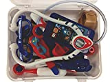 MMP Living Deluxe Doctor Play Set - 28 Pieces, with Medical Bag and case