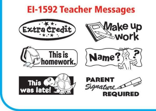 (Educational Insights Super 6 Stamp Station Teacher/English)