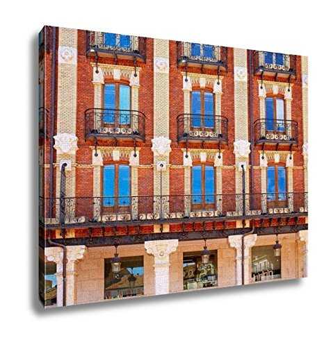 Ashley Canvas, Burgos Plaza Mayor Square In Castilla Leon Of Spain, Home Decoration Office, Ready to Hang, 20x25, AG5478757 by Ashley Canvas