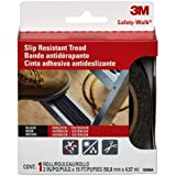 3M Safety-Walk Outdoor Tread, Black, 2-Inch by-180-Inch