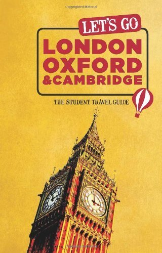 Let's Go London, Oxford & Cambridge: The Student Travel Guide by Harvard Student Agencies, Inc. (2013) Paperback