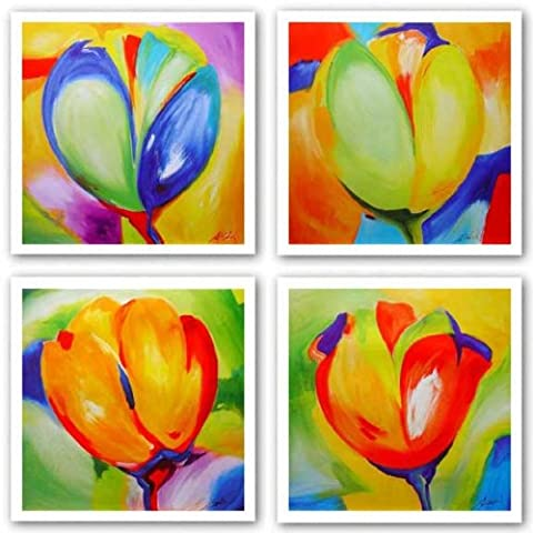 Riotous Tulips Set by Alfred Gockel 27.5