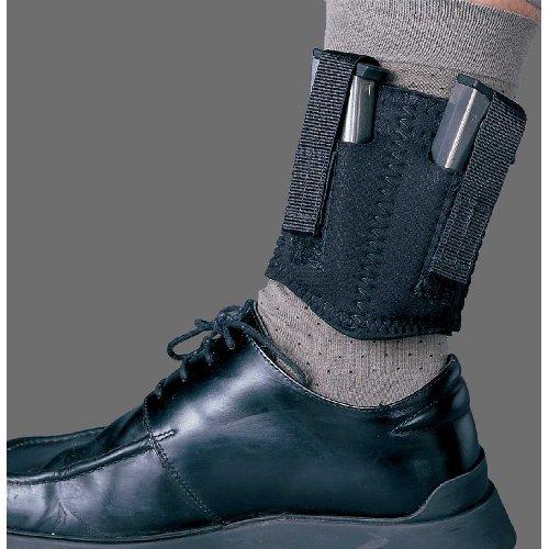 DESANTIS-Neoprene-Ankle-Dbl-Mag-Pouch-Black