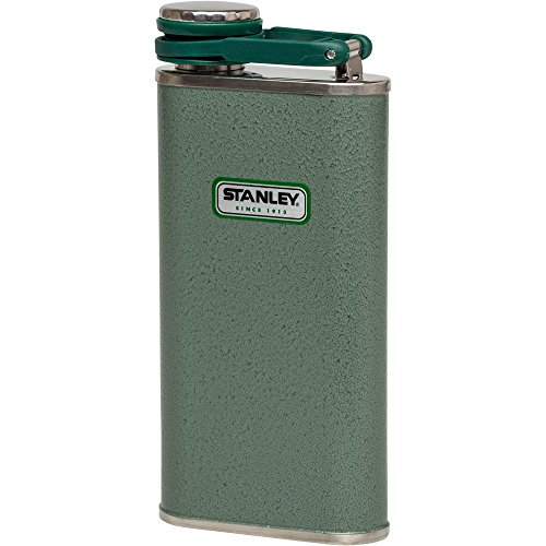 Stanley Classic Flask 8oz Hammertone Green by Stanley (Image #2)