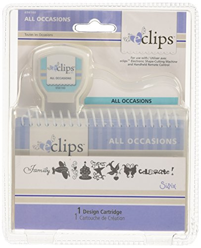 Sizzix eclips Cartridge - All Occasions