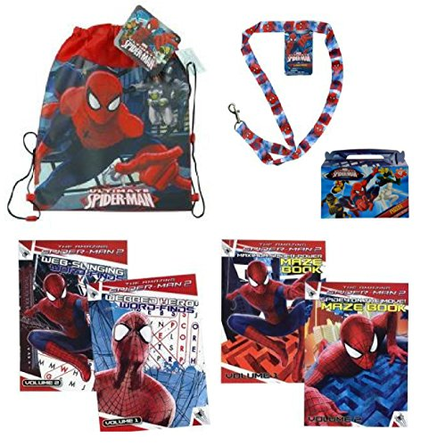 Amazing Spiderman Ultimate Easter Gift Set - Includes Sling