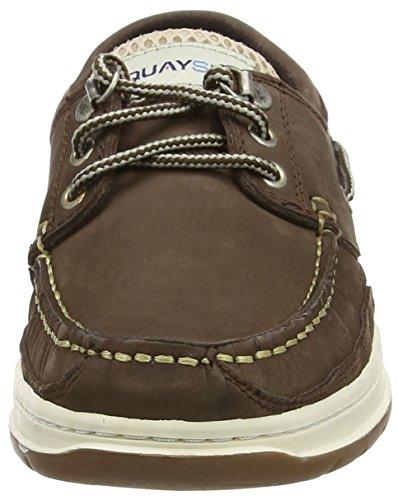 QUAYSIDE Walnut Brown Bootschuhe Erwachsene Sydney Unisex rqw1H4crX