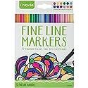 Crayola Fine Line Contemporaryマーカー–12ct Gearアートとクラフトおもちゃ、2017クリスマスおもちゃ