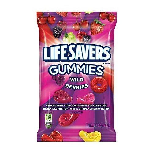 Life Savers Gummies Wild Berries 7 Oz. (Pack of 2)  -