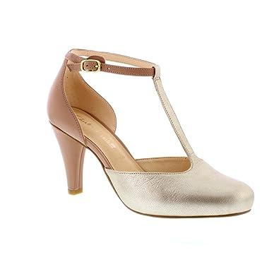 986b2fa6e6e6 Clarks Women s Dalia Tulip T-Bar Pumps  Amazon.co.uk  Shoes   Bags