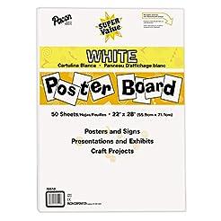 Pacon Super Value Poster Board, 22