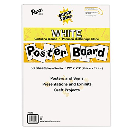 Board Poster Paper (Pacon Super Value Poster Board, 22
