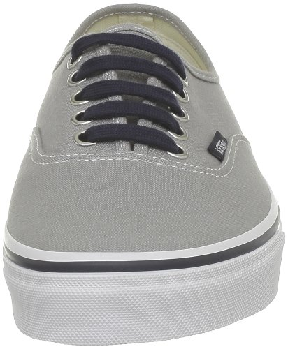 Vans U Authentic, Zapatillas De Deporte Unisex Gris (Mid Grey/Navy)