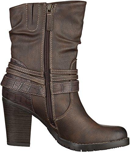 Tamaris 2502 - botas de material sintético mujer marrón - Braun (braun (CIGAR314))