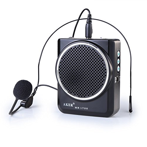 Portable Amplifier Microphone Headset Batteries