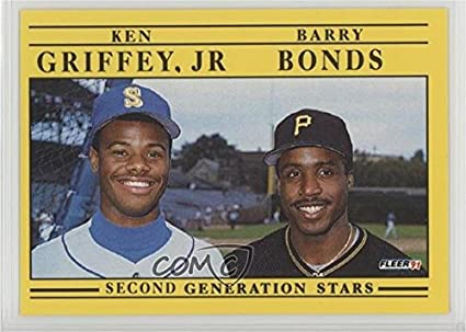 9f85ae8682 Image Unavailable. Image not available for. Color: Barry Bonds; Ken Griffey  Jr. ...