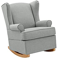 Baby Relax Wainwright Wingback Convertible Rocker, Gray
