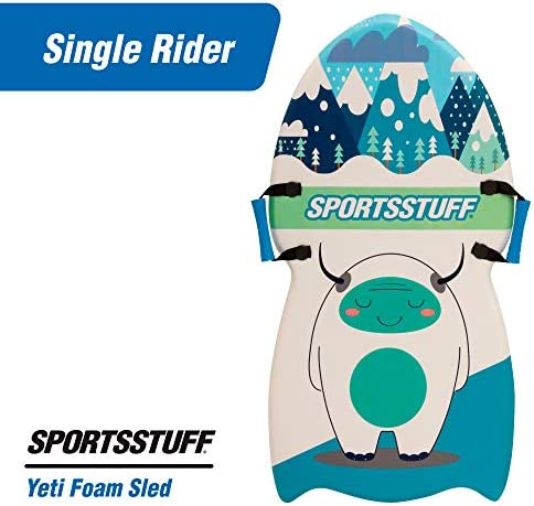 SportStuff Yeti Foam Sled