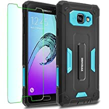 Samsung Galaxy A5 (2016) / A510F Case, INNOVAA Receptacle Armor Case (Not Compatible with Samsung Galaxy A5 (2015) / A500) W/ Free Screen Protector & Touch Screen Stylus Pen - Teal