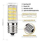 E17 LED Bulb, Microwave Oven Light 5 Watt Daylight