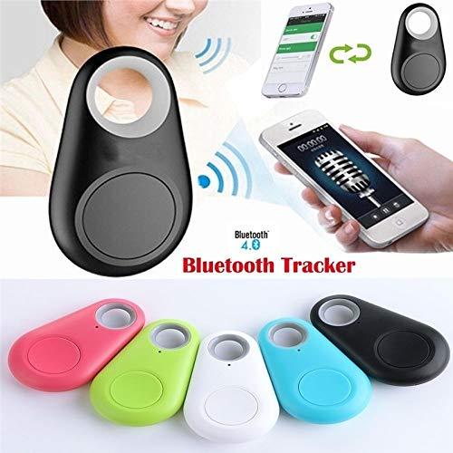 Didade Smart Bluetooth Tracker GPS Locator Key Wallet Pet Dog Tracker Alarm Key (Blue)