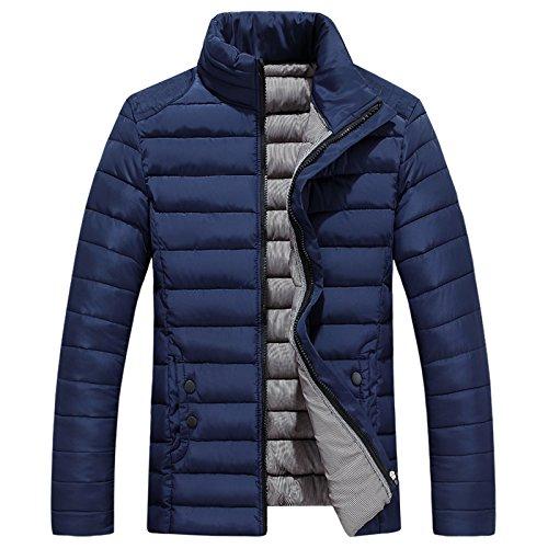 Männer - lässig, warme Kleidung, Herbst und Winter männer - Freizeit -, wärme, self-Cultivation Baumwolle gepolsterte Kleidung,Die Marine in Tibet,5XL