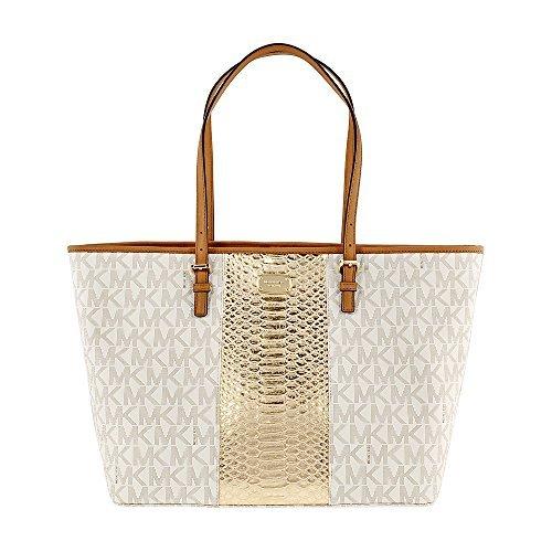 Large Two Tone Fabric Tote Handbag 35T7GIJT3E ()