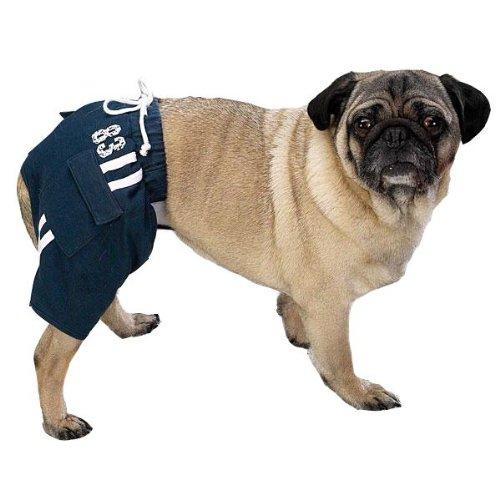 Casual Canine Sport Trunks Lrg Navy