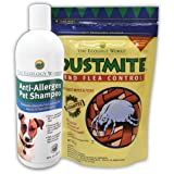 Pet Shampoo and Dust Mite and Flea Control concentrate