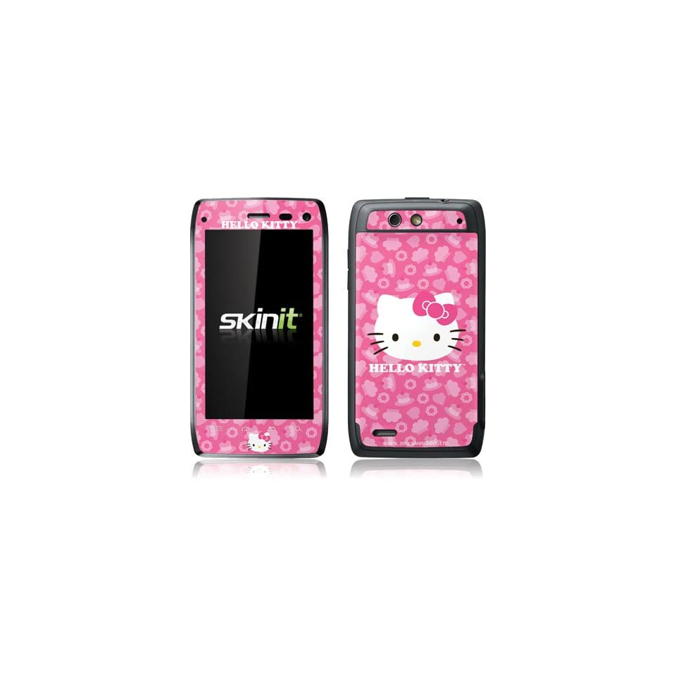 Pink Fashion   Hello Kitty Cupcake   Motorola Droid 4   Skinit Skin Cell Phones & Accessories