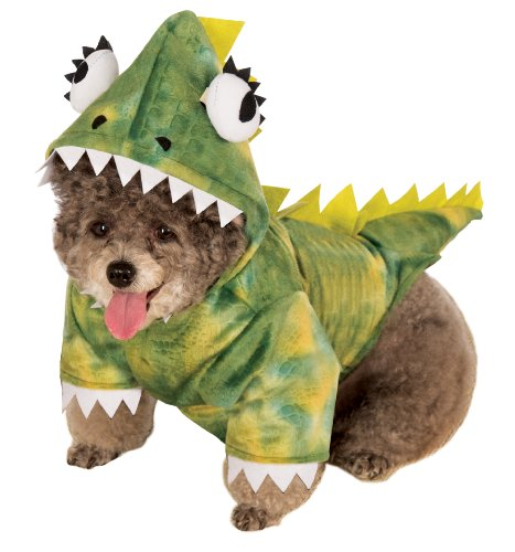 (Rubie's Pet Costume, Medium, Green Dinosaur)