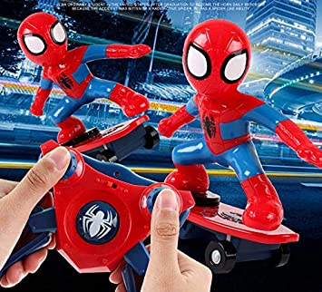 Amazon.com: Marvel Spiderman Shunt Scooter El mejor regalo ...