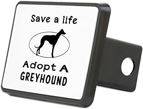 Dog Greyhound 2 Tow Trailer Hitch Cover Plug Insert Truck Pickup RV