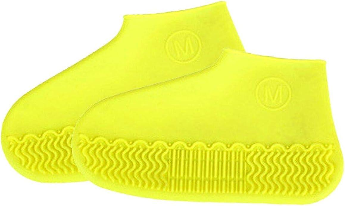 1 paio di scarpe antiscivolo Coperchio protettivo Copriscarpe in silicone Copris