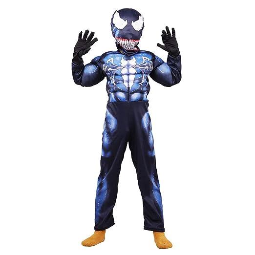 Hope Venom Deluxe Costume Cosplay Traje Niños Niños Visten Mono ...