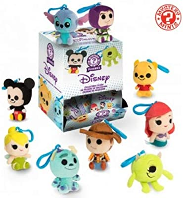 Funko Blind Bag Keychain Plush: Disney Pixar - One Mystery Keychain Collectible Figure, Multicolor
