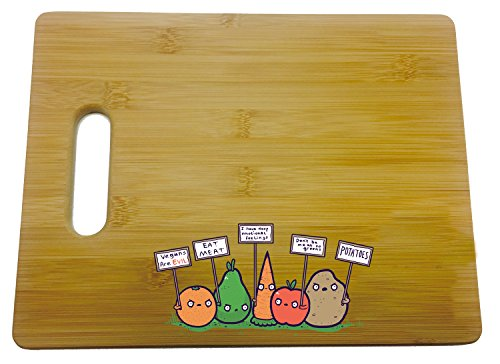 Protesting Vegans Cutting Board