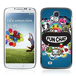 Designer Depo Hard Protection Case for Samsung Galaxy S4 / Chat Colorful Creatures