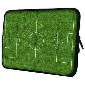 """Conseguir Fútbol Modelo Campo 7 """"/ 10"""" / 13 """"Laptop Sleeve Case para el MacBook Air Pro / Mini Ipad / Galaxy Nexus Tab2/Sony/Google 62655 , 13"""""""