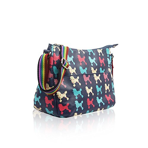 Body Womens Shoulder Messenger Butterfly Oilcloth Ladies Tote Bag Handbag Blue Ydezire Cross poodle Women Satchel XxTBX