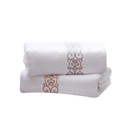 Dedo toallas para baño/cocina, 12 x 12 cm algodón suave máquina wash-