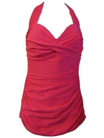 8dd43dc8d6a MIRACALESUIT Miraclesuit Women's One Piece Swimsuit Halter Trimshaper at Amazon  Women's Clothing store: