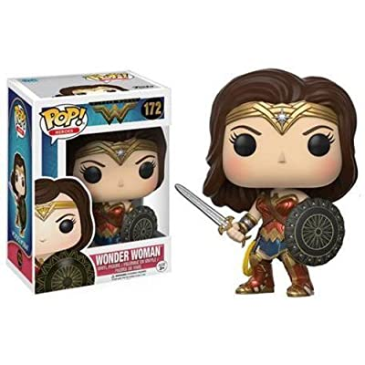Funko POP Movies DC Wonder Woman Movie Wonder Woman Action Figure: Funko Pop! Movies:: Toys & Games