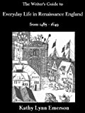 For the writer and anyone else interested in Renaissance England (1485-1649), this remarkable resource covers the day-to-day details: fashions, food, customs, family life, the Royal Court, law and punishment, holidays, city and rural living, seafarin...
