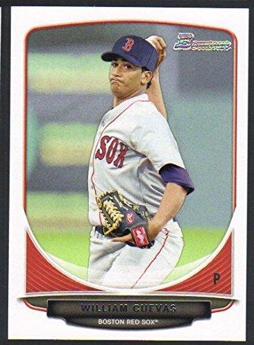 2013 Bowman Baseball Prospects BP 59 William Cuevas Boston Red Sox