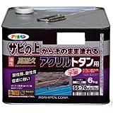 アサヒペン 油性高耐久アクリルトタン用 6KG 新茶