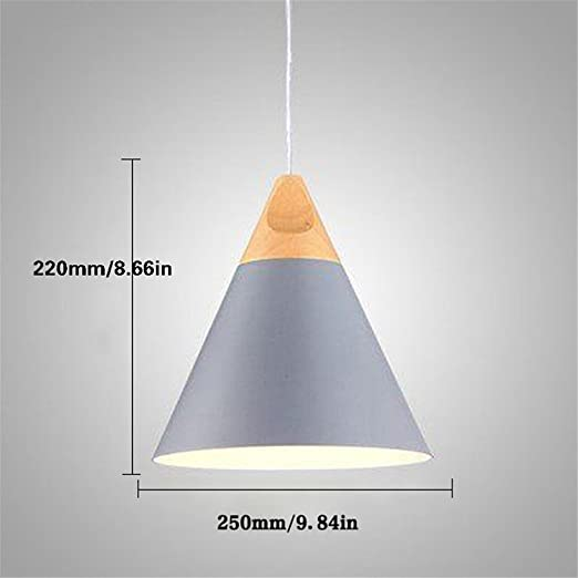Cac nordic pendant lights for home lighting modern hanging lamp cac nordic pendant lights for home lighting modern hanging lamp wooden aluminum lampshade led bulb bedroom mozeypictures Images