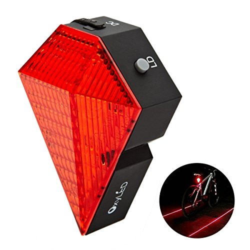 OxyLED Rechargeable Bicycle Mountain Taillight