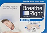 Breathe Right Nasal Srips, Large - Natural (30 Pack) by Breathe Right