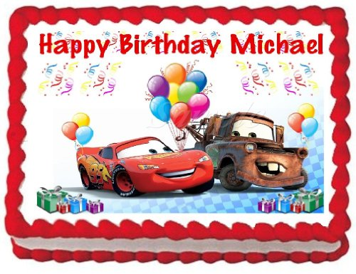 Edible Cake Images Review : 5 Best cars cake decorations edible that You Should Get ...
